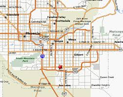map of chandler az contact us