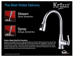 No Water In Kitchen Faucet Faucet Com Khu102 33 Kpf1612 Ksd30ch In Stainless Steel Chrome