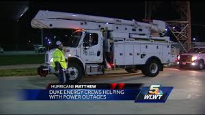 Duke Energy Power Outage Map Florida Duke Energy Crews Head South To Help Restore Power