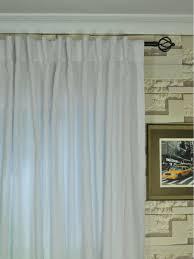 Sheer Curtains Tab Top Qyk246sag Eos Linen Solid Concealed Tab Top Sheer Curtains