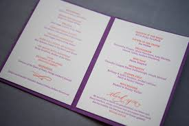 wedding day program all about wedding ceremony programs