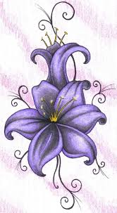 flower violet flower tattoo drawing flower tattoos tattoo