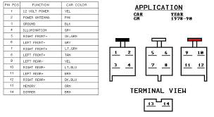2000 chevy silverado factory radio wiring diagram wiring diagram
