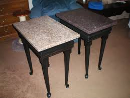 granite top end tables furniture granite end table agreeable round top tables coffee and
