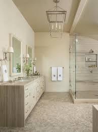 photos hgtv neutral spa bathroom with mosaic tile floor idolza