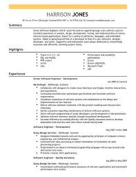 software developer resume sample resume samples and resume help