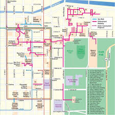 Green Line Chicago Map by Chicago Pedway Map Map Of Chicago Pedway United States Of America