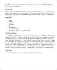 Sample Resume For Sap Mm Consultant by Resume Format For Nursing Tutor Resume Format