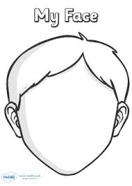 helpful blank faces templates variety