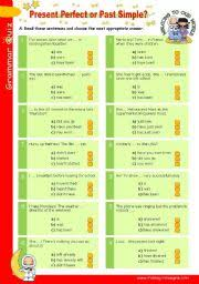 english worksheets present perfect tense worksheets page 3