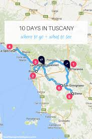 Map Of Tuscany Italy 10 Days In Tuscany Italy Feathers And Stripes Boston Fashion