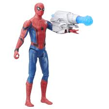 hasbro reveals upcoming spider man homecoming action figures