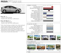 toyota prius paint codes and brochures page 2 priuschat