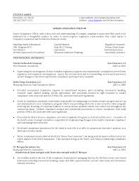 Cio Resume Samples by Compliance Manager Resume U2013 Sample Free Resume For Your Document