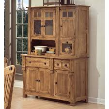 Hutch And Buffet by Sedona Wood Buffet And Hutch In Rustic Oak Humble Abode