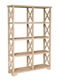 Self Assembly Bookshelves by Unfinished Wood Bookcases And Bookshelves Unfinishedfurnitureexpo