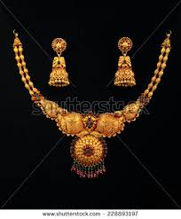 gold necklace stock images royalty free images vectors