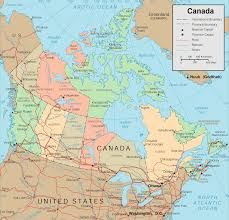 Map Canada Provinces by Canada Cities Map
