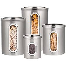 stainless steel canister sets kitchen canister set stainless steel beautiful canisters for
