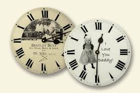 personalized clocks with pictures personalized s day gifts borin custom clocks
