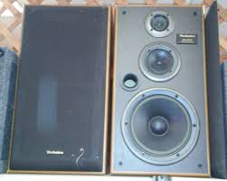 sold panasonic technics sb lx50 speakers 3 way 200w pair