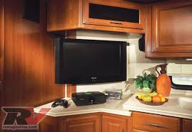 tv in the kitchen home