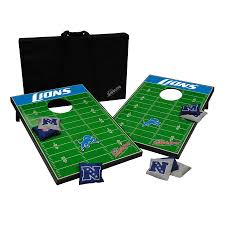 Detroit Lions Home Decor by Shop Wild Sports Detroit Lions Outdoor Corn Hole Party Game At
