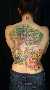 alice in wonderland tattoo a full backpiece majestic tattoo nyc