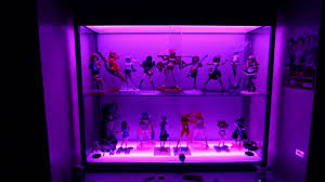 Display Cabinets With Lights Anime Figure Display Cabinet With Rgb Led Tape Youtube