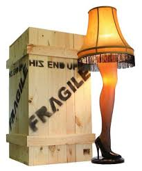 l shade from a christmas story film used books in class