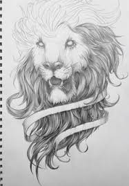 reworking a lion drawing from a couple years ago king lion