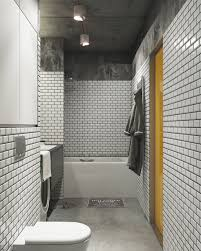 decorating dark and white bathroom ideas with a cool design which nordes design group white brick wall bathroom design