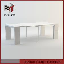 High Gloss Extending Dining Table High Gloss White Extendable Dining Table High Gloss White
