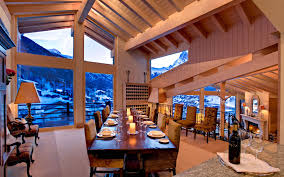 luxury ski chalet with stupendous view of the matterhorn youtube
