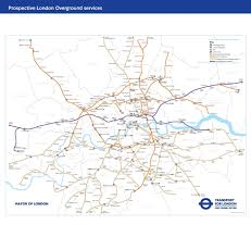 Transport Map Tfl Map Changes Shows Transport For London U0027s Planned System After