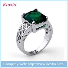 ebay rings silver images Ebay china prong setting zircon emerald sterling silver jewelry jpg