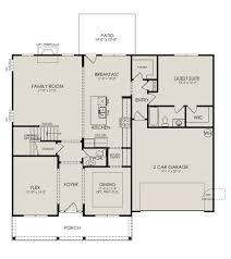 essex ii floor plan at stafford at langtree in mooresville nc