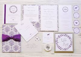 Purple And Silver Wedding Invitations Woodland Wedding Invitations Blue Magpie Invitations Blog