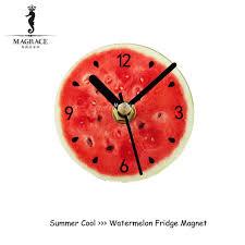 fruit by mail 2017 fashion creative refrigerator clocks pastoral fruit
