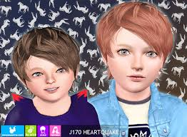 sims 3 updates newsea sims j170 heartquake hair by juice