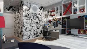 tapisserie pour chambre ado tapisserie chambre ado garcon 13 decoration murale hockey jet set