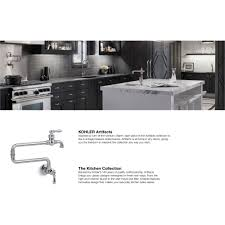 kohler k 99270 vs artifacts vibrant stainless steel pot filler