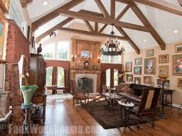 vaulted ceiling beams 15 faux wood ceiling beam ideas photos