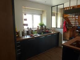 cuisine schmidt lannion modèle loft iron black et plan de cuisines schmidt lannion