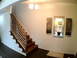 interior stair railing kits decorations trendy brick wall