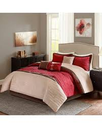 Madison Park Laurel Comforter Deal Alert Madison Park Marnie Red 7 Piece Comforter Set