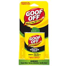 Super Glue On Laminate Flooring Shop Goof Off 4 Fl Oz Adhesive Remover At Lowes Com