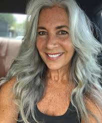salt and pepper hair styles for women 3 ways to wear gray hair over 40