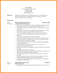 accountant objective for resume 10 accounting resume objectives experince letter 10 accounting resume objectives