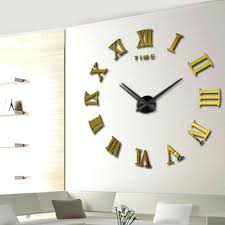 oversized clocks oversize wall clock gallery home wall decoration ideas